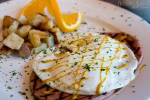 Over Easy Café: Frazzled Eggs