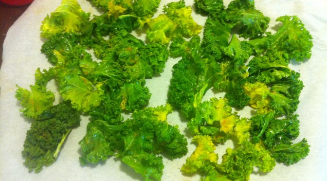 Easy Bake Kale Chips