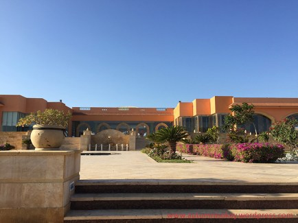 Resort's main building.