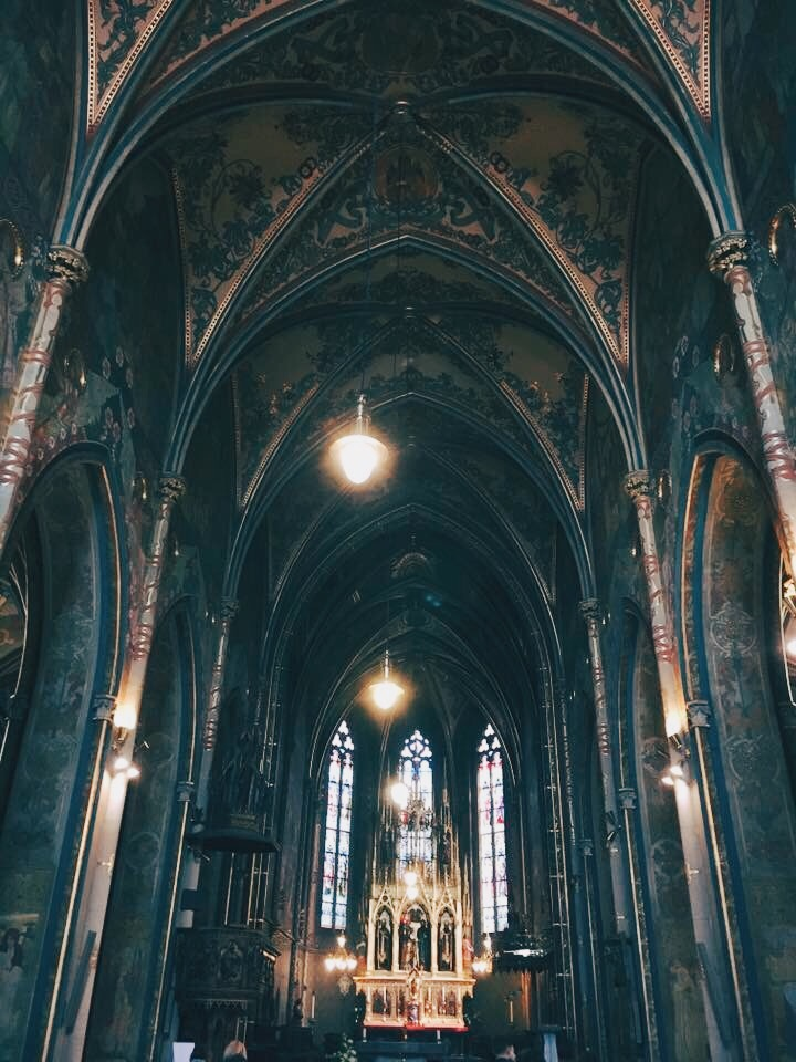 Vysehrad, Prague: Basilica of St. Peter and St. Paul
