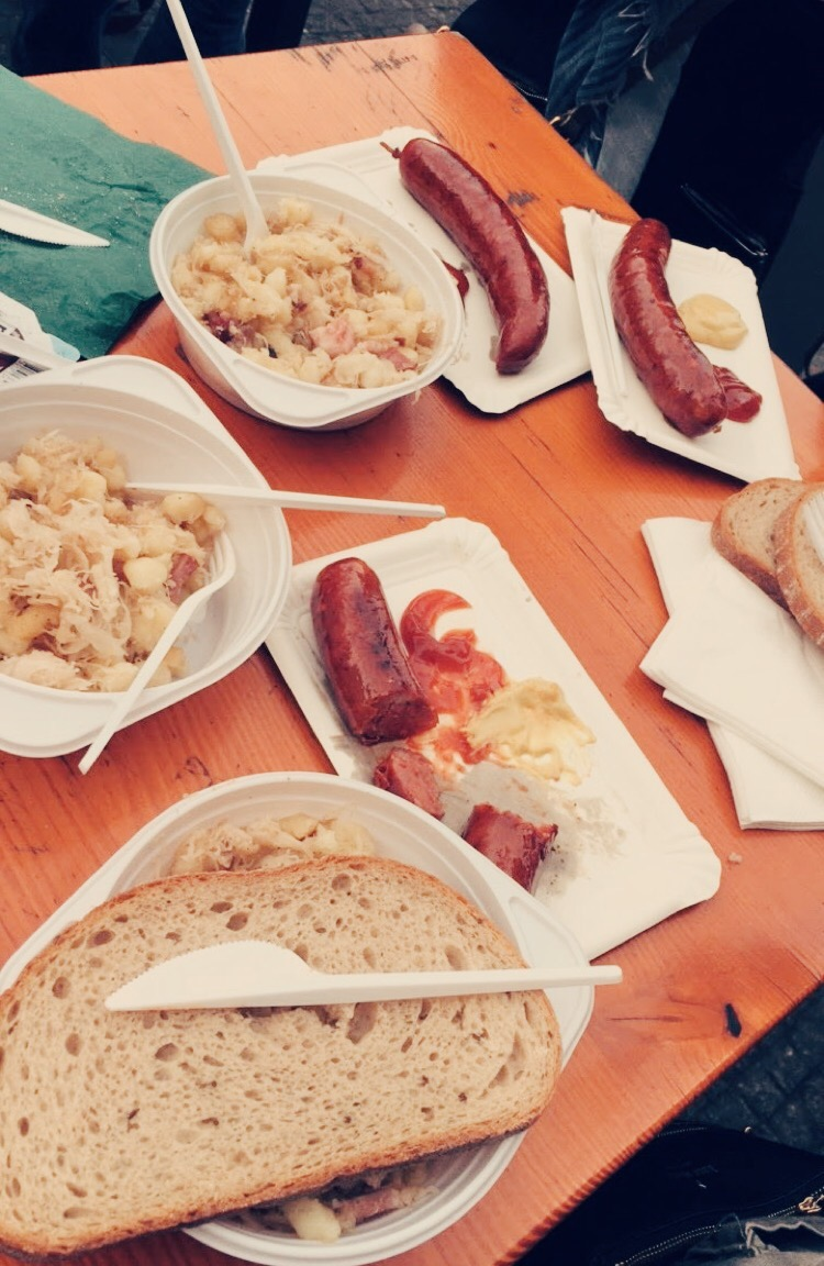 Things to do in Prague: try traditional Czech food