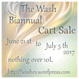 Wash BiAnnual Cart Sale June 2017 Poster