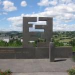 Monument dédié à Georges Pompidou à St Flour