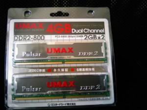 UMAX Pulsar DCDDR2-4GB-800