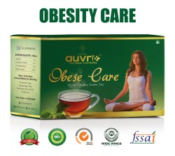 Obese care Herbal green tea