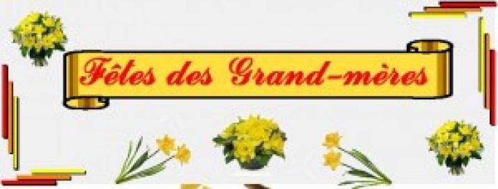 Livraison de fleurs pour la fête des grand-mères