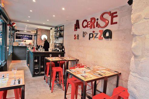 restaurant la cerise sur la pizza a paris le le 10/01/2013 sebastien SORIANO/ LE Figaro