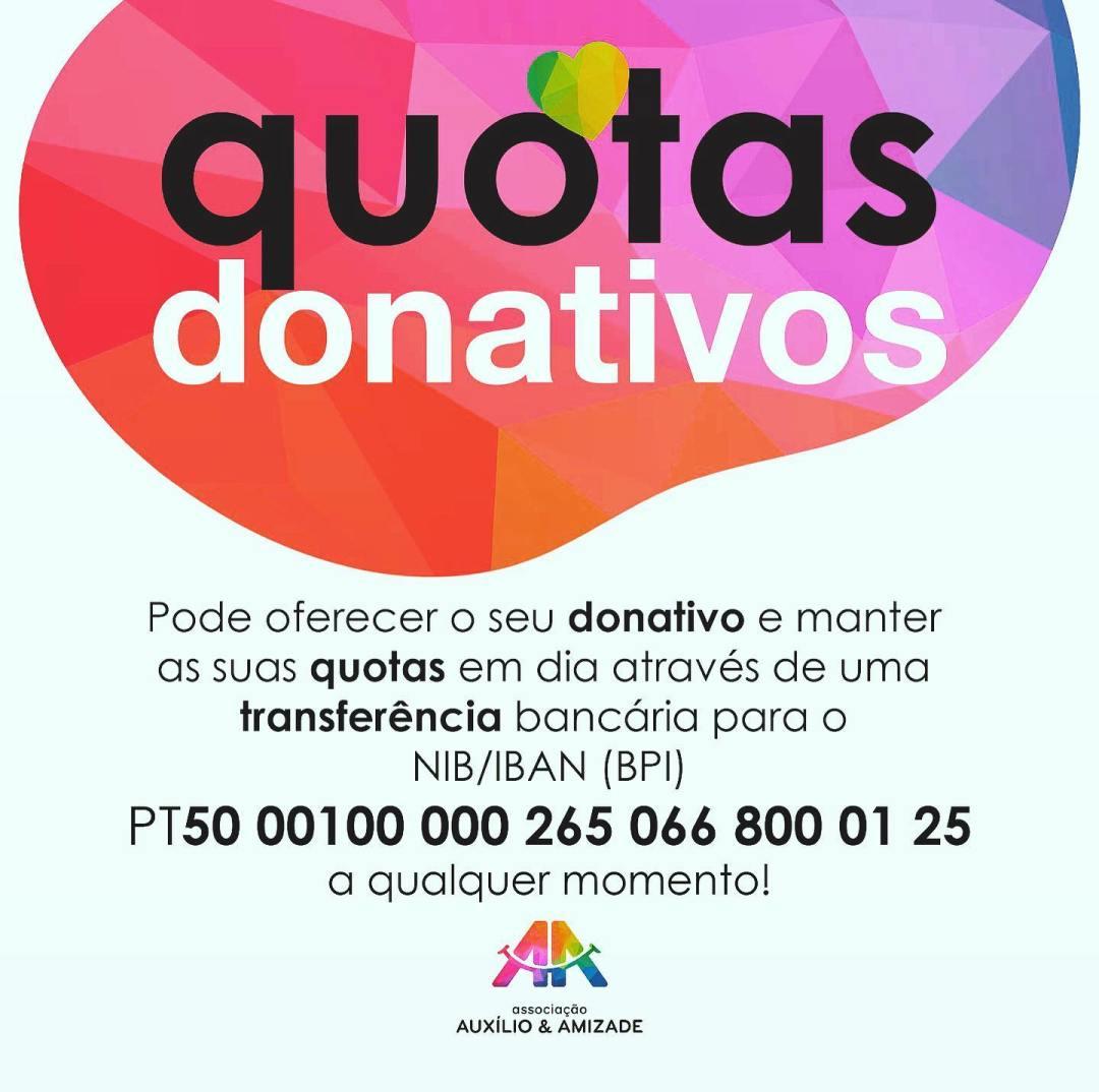 quotas donativos