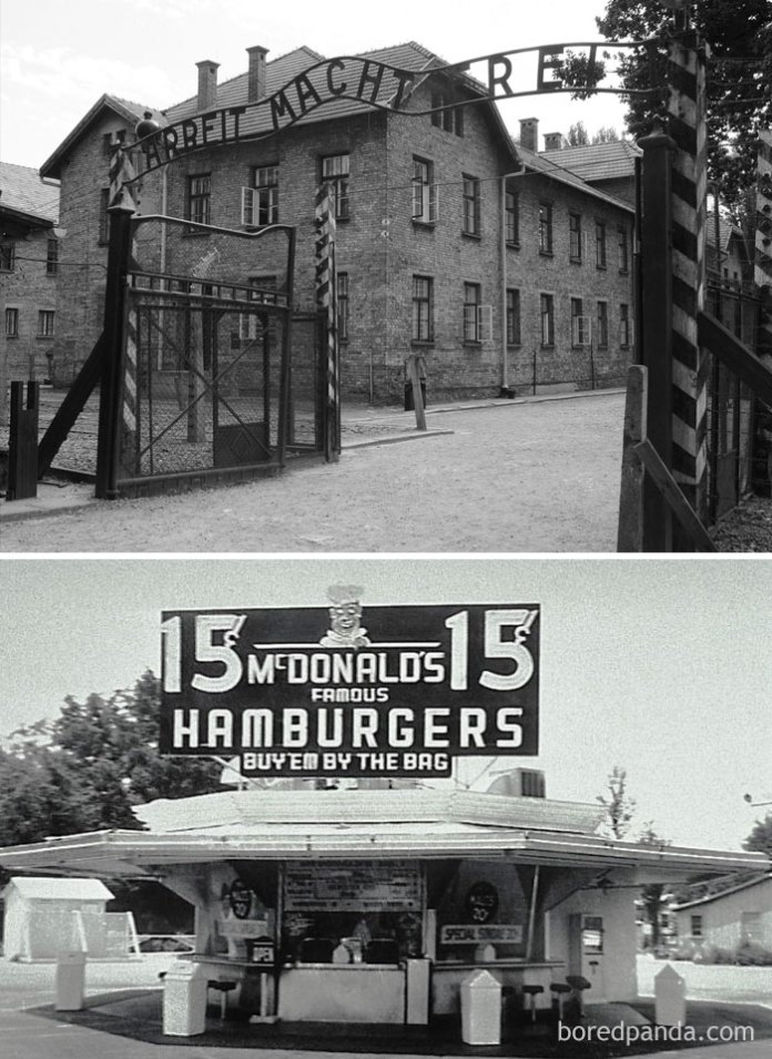 Prisoners Arrived At Auschwitz Just Days After Mcdonald's Was Founded (1940)