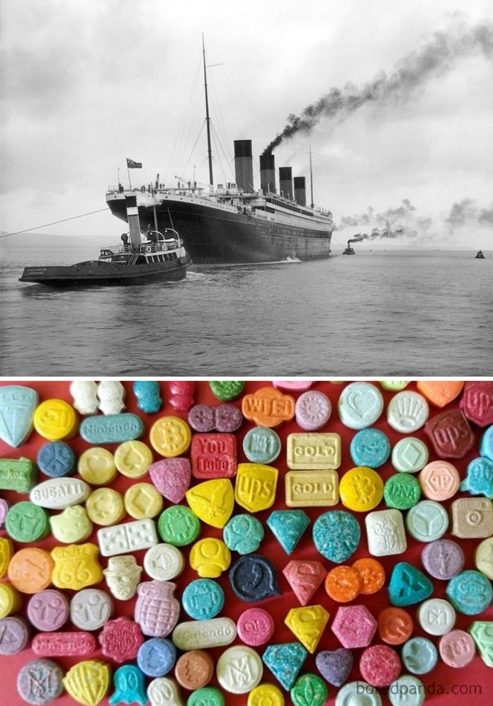 Ecstasy Was Invented The Same Year The Titanic Sank (1912)