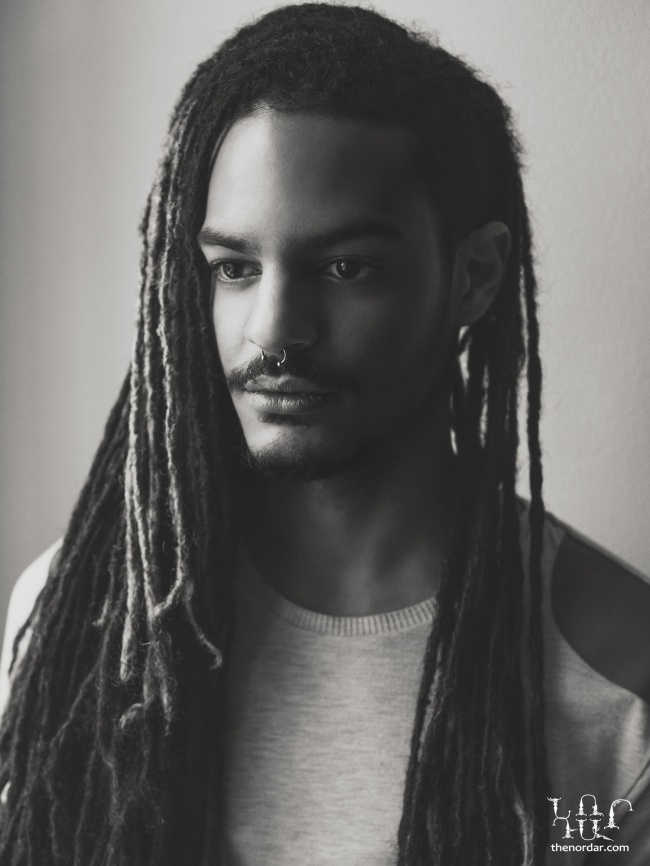 African, Swiss man