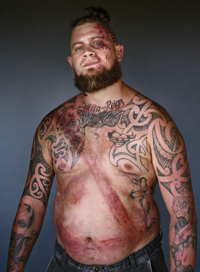 tattooed man