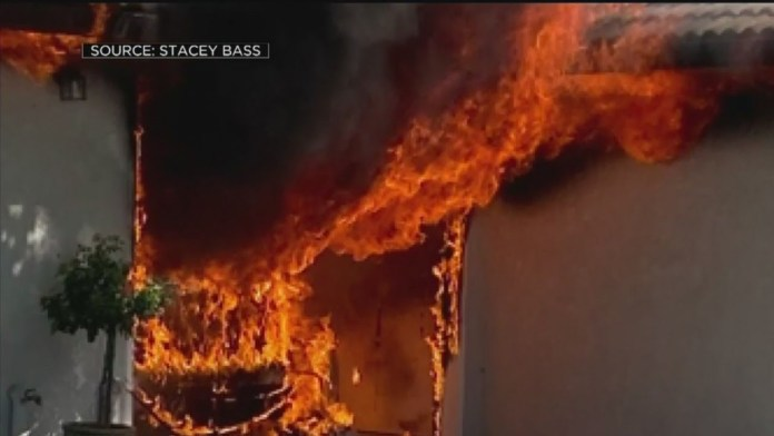 devastating fire