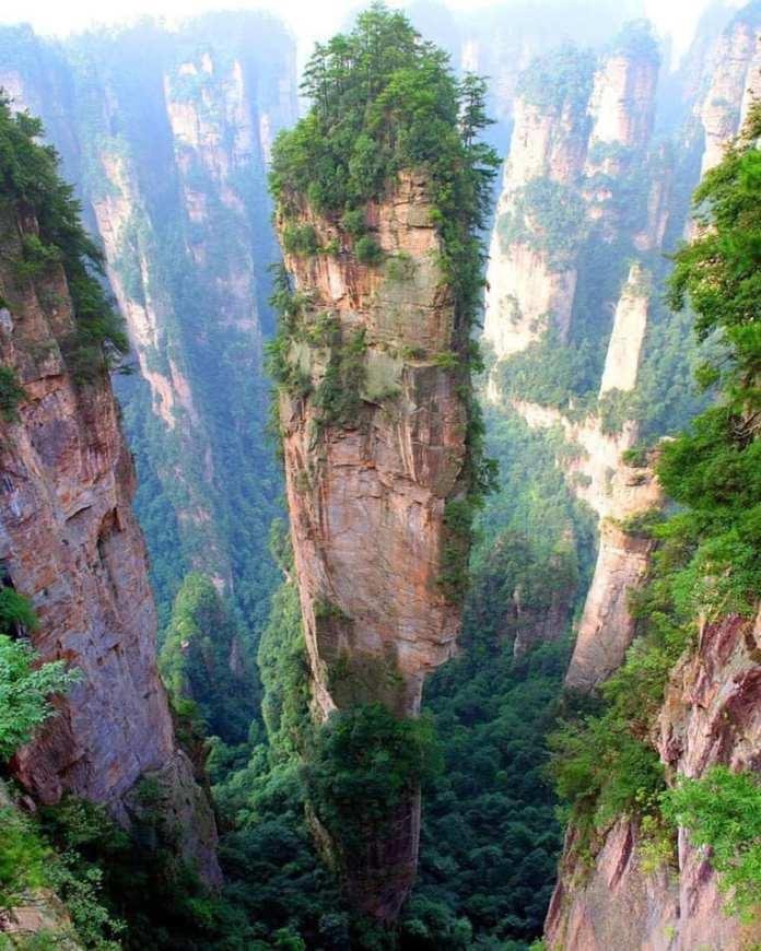 Tianzi Moutains in China