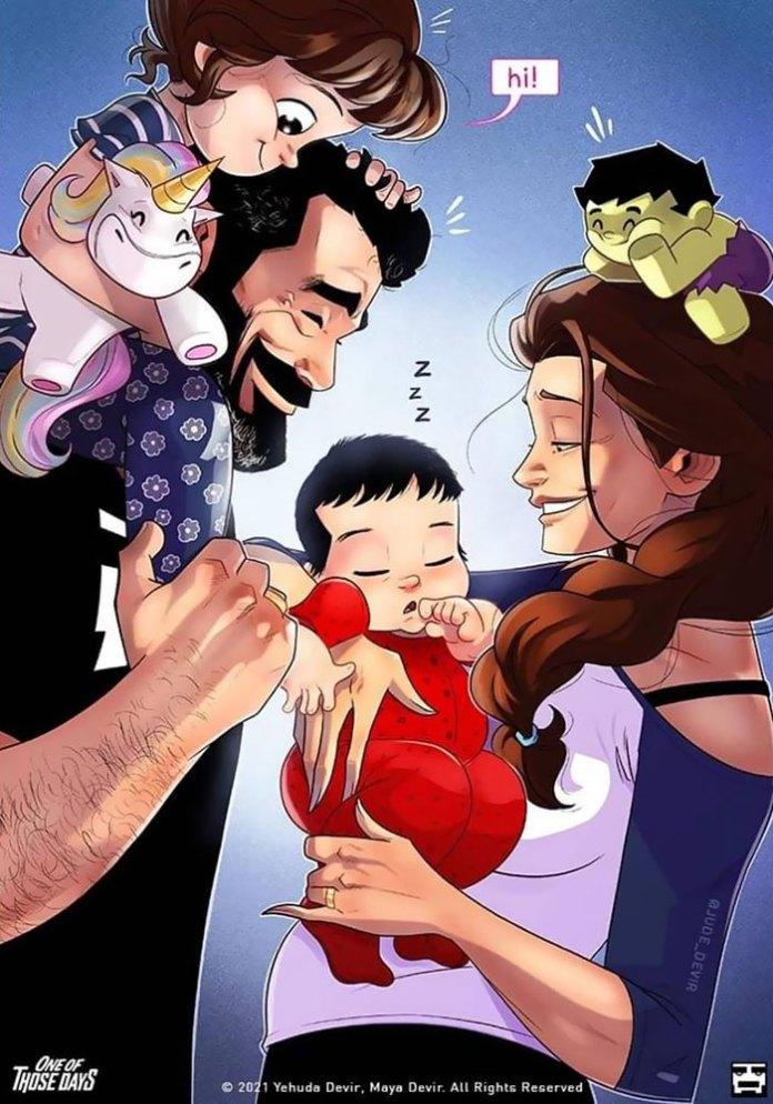 Devir family welcomed Ethan