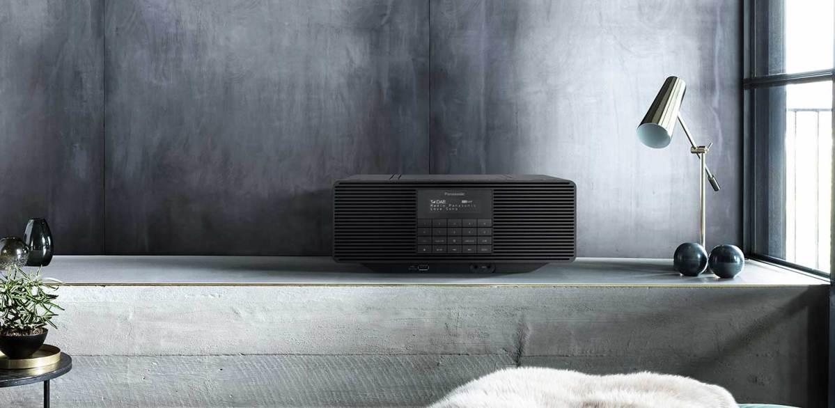 Panasonic DAB-radio/CD-speler D70BT: alles in één met gemak