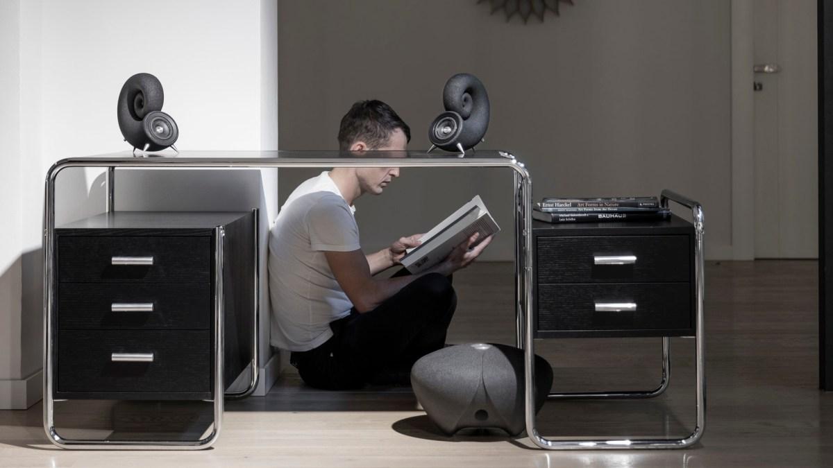 Ionic Sound System: een luidsprekersysteem gemaakt van zand