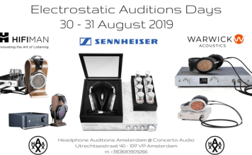 Electrostatic Auditions Days bij Headphone Auditions in Amsterdam