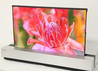 Sharp OLED oprolbare TV