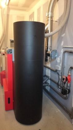 hydraulique sur chaudière à granulé