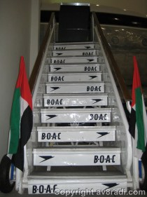 BOAC Stairway well preserved!!!