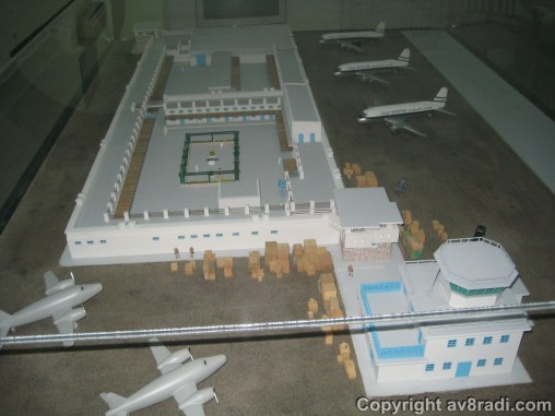Overview of the old airport