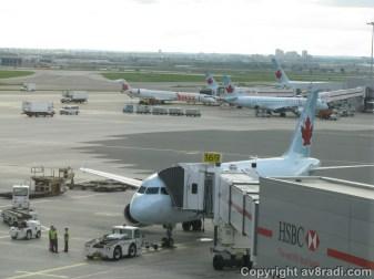 Air Canada's Airbus A319