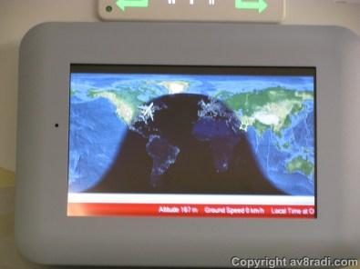 Our flight....Boy thats a looong flight!!!