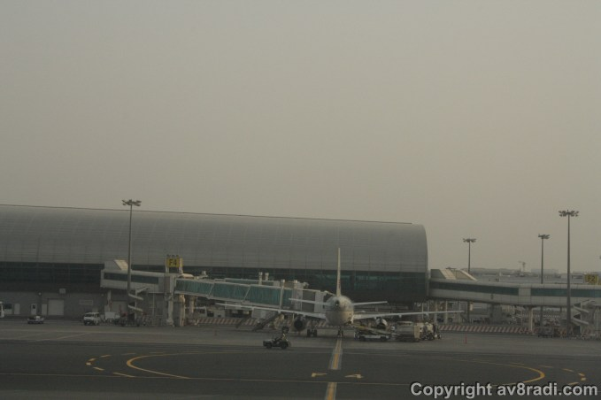 Qatar Airways A320 at DXB (1)