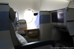 An example of EK A380's business class product