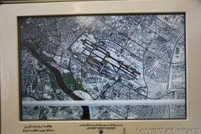 Satellite image of DXB