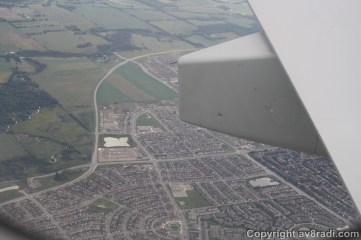 Flying over a suburb…. I wonder if I know anyone living here???