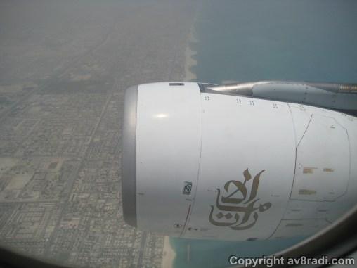 Coastline of the UAE