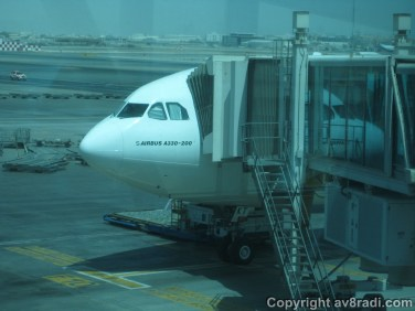 My ride (Airbus A330-200)
