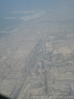 The Sh. Zayed Road and most of DXB's landmarks u/c. Also visible is the Construction of the Burj Kahlifa and the Dubai Mall