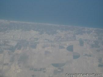 Over the Coast of Oman