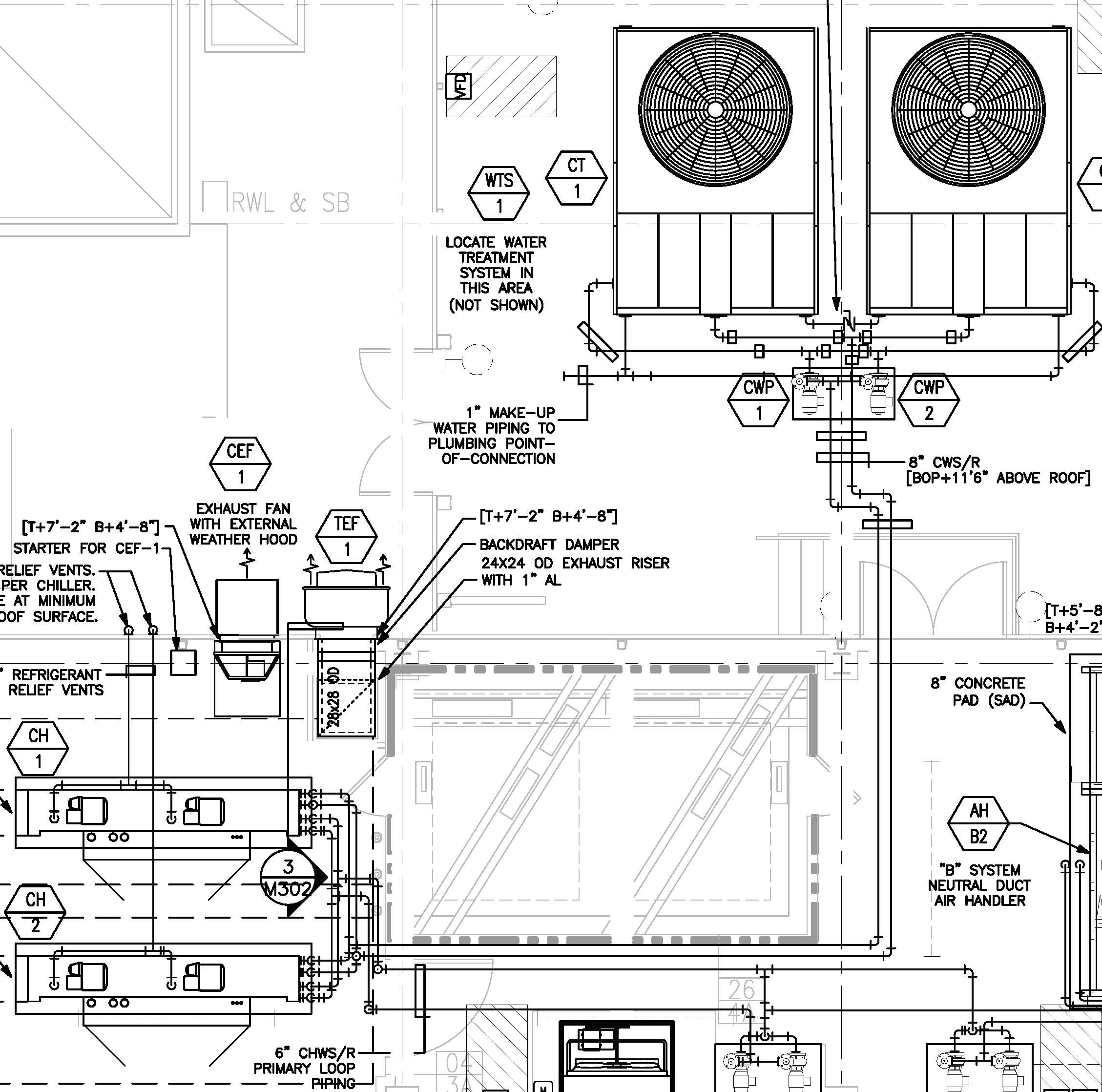 Chilled Water Piping Diagram