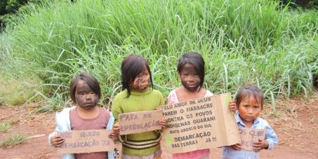Salvemos os índios Guarani-Kaiowá - URGENTE!
