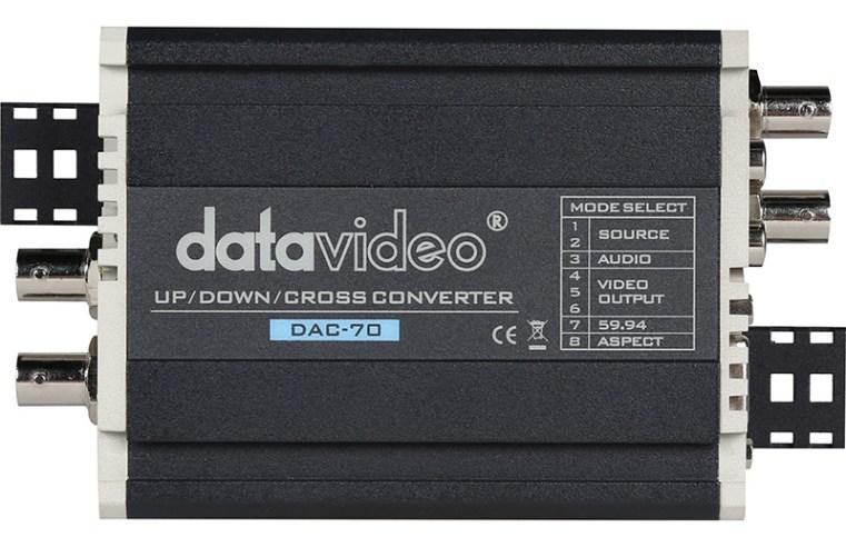 DATAVIDEO DAC-70: Embebe, convierte, escala, distribuye, quién da más?