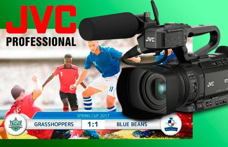 JVC GY-HM200ESB Grabación 4K y Streaming simultáneos