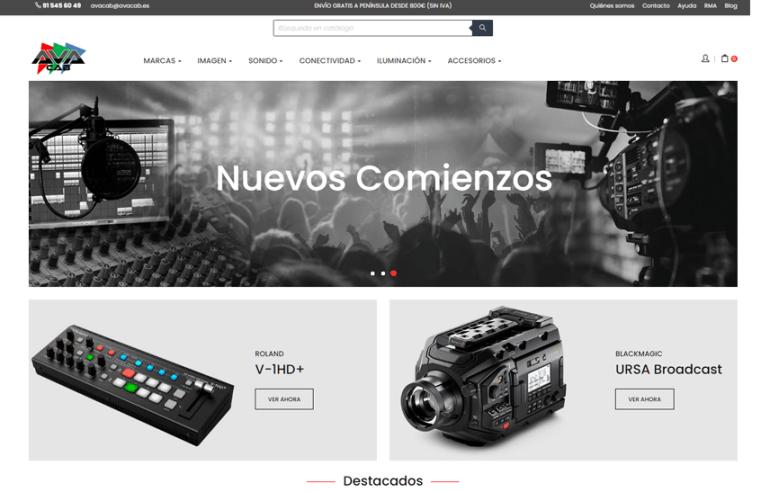 ¡Lanzamos nueva web!