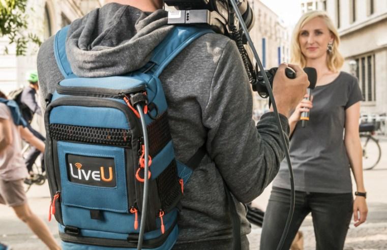Streaming en exteriores con LiveU
