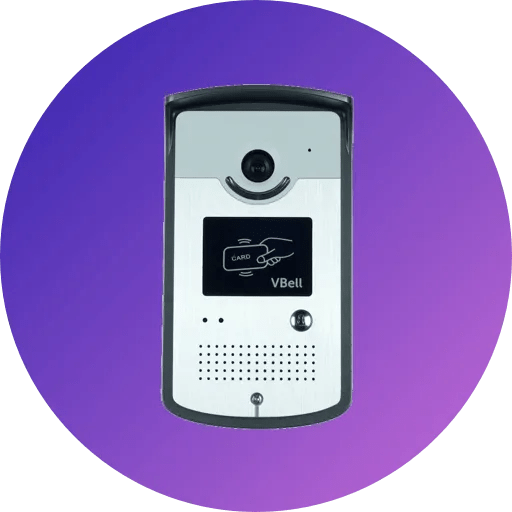 SIP door Intercom with RFID