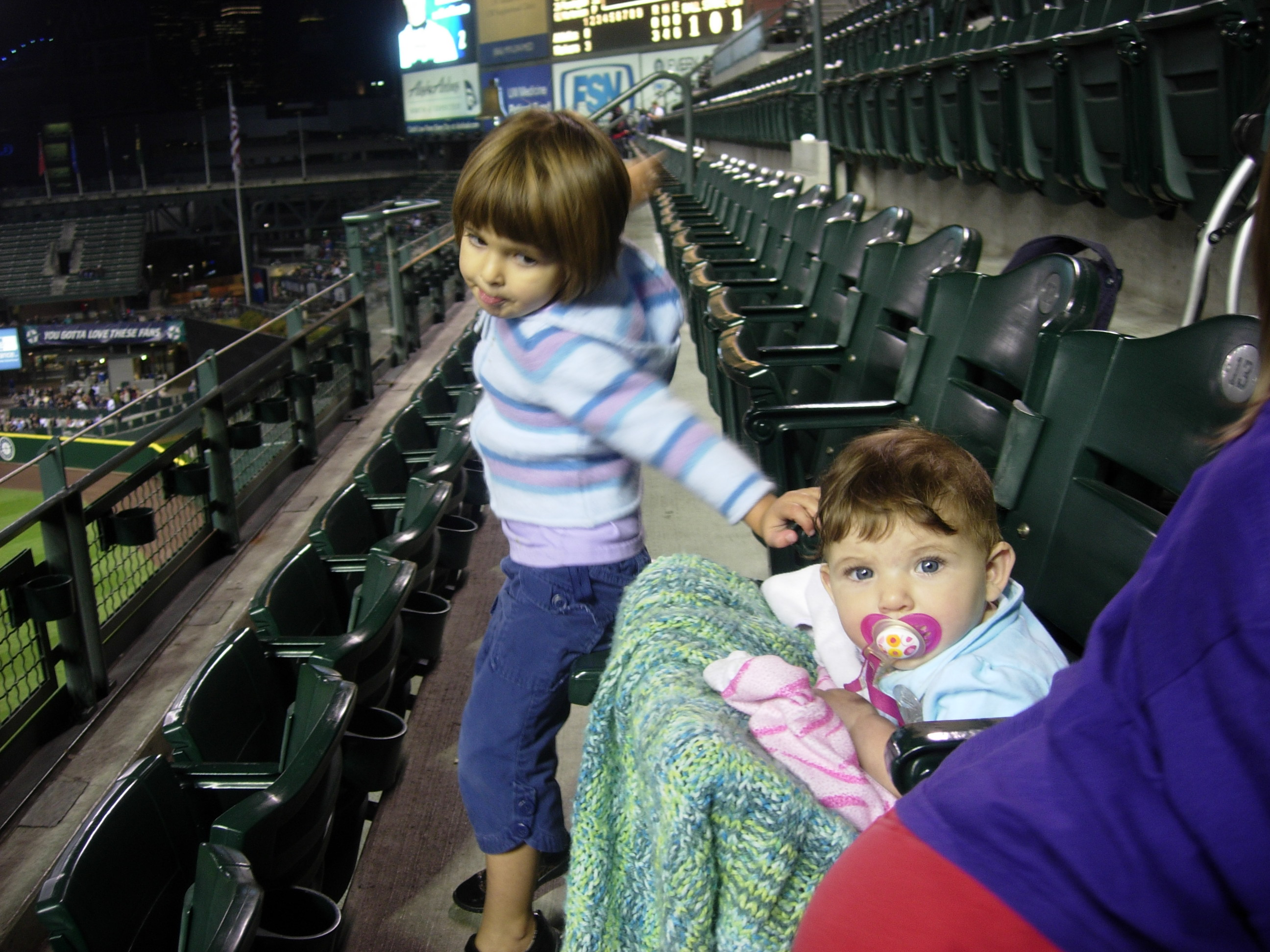 Gia & Kaya at Safeco Field