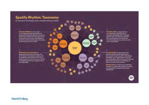Spotify Rhythm: Taxonomy