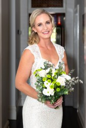natural glamour bridal makeup on a mature bride