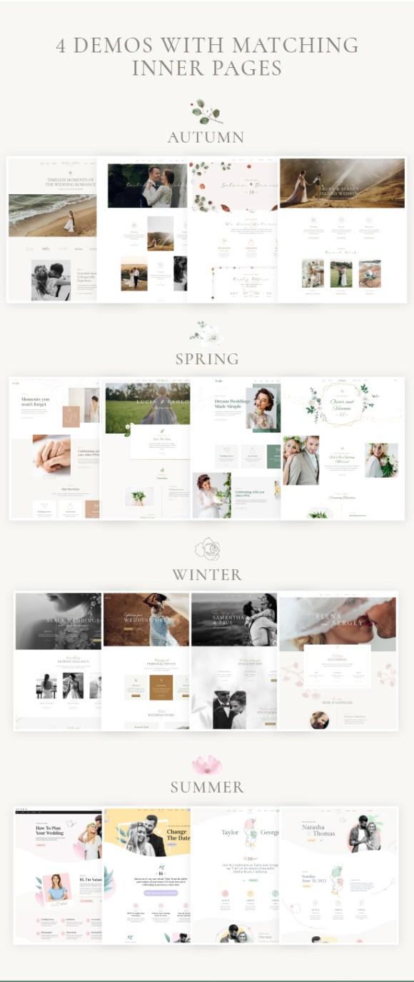 Avala - Wedding WordPress Theme - 6