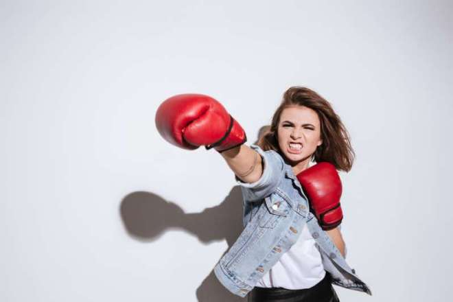 She's No Bunny! Top 3 Cruelest Female Zodiac Signsangry woman boxing