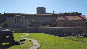 Hier erkennt mandie Ausmaße der Festung