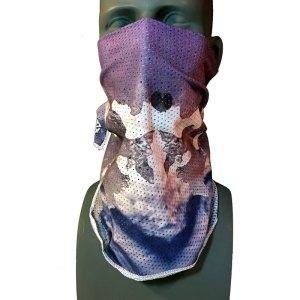 Purple Mesh Snowboarding Bandana by Rob Kingwill